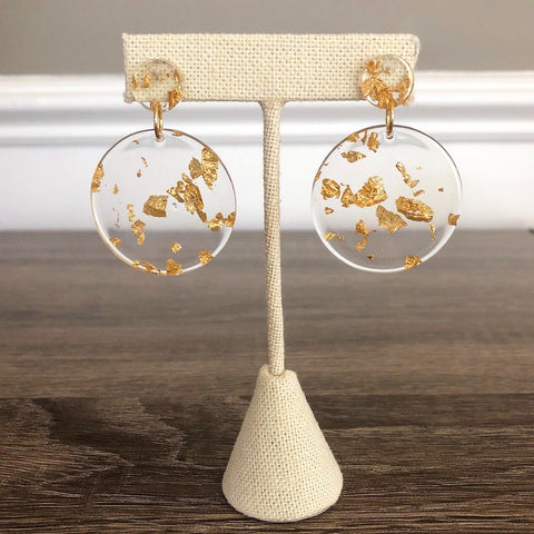 Gilty Acrylic Earrings