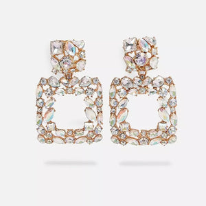 """Venice"" Rhinestone Earrings"