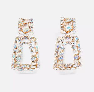 """Milan"" Diamanté Earrings"