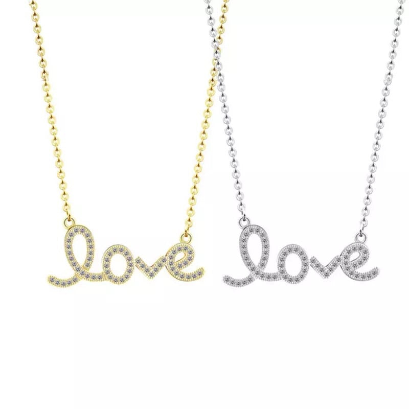 """Love"" Necklace - dumiyah"