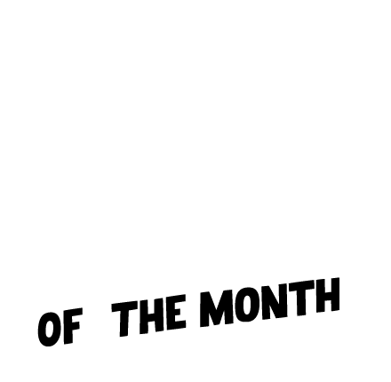 Image of Monthly cred to amazing people doing amazing things.