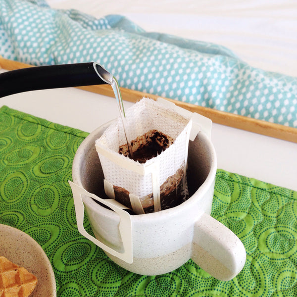 Brewing Tips: making an awesome cuppa with the drip coffee bag