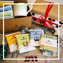 Box G: 15 Double Wood Coffee & 1 Organic Beeswax Wrap & 1 Robert Gordon Organic Mug