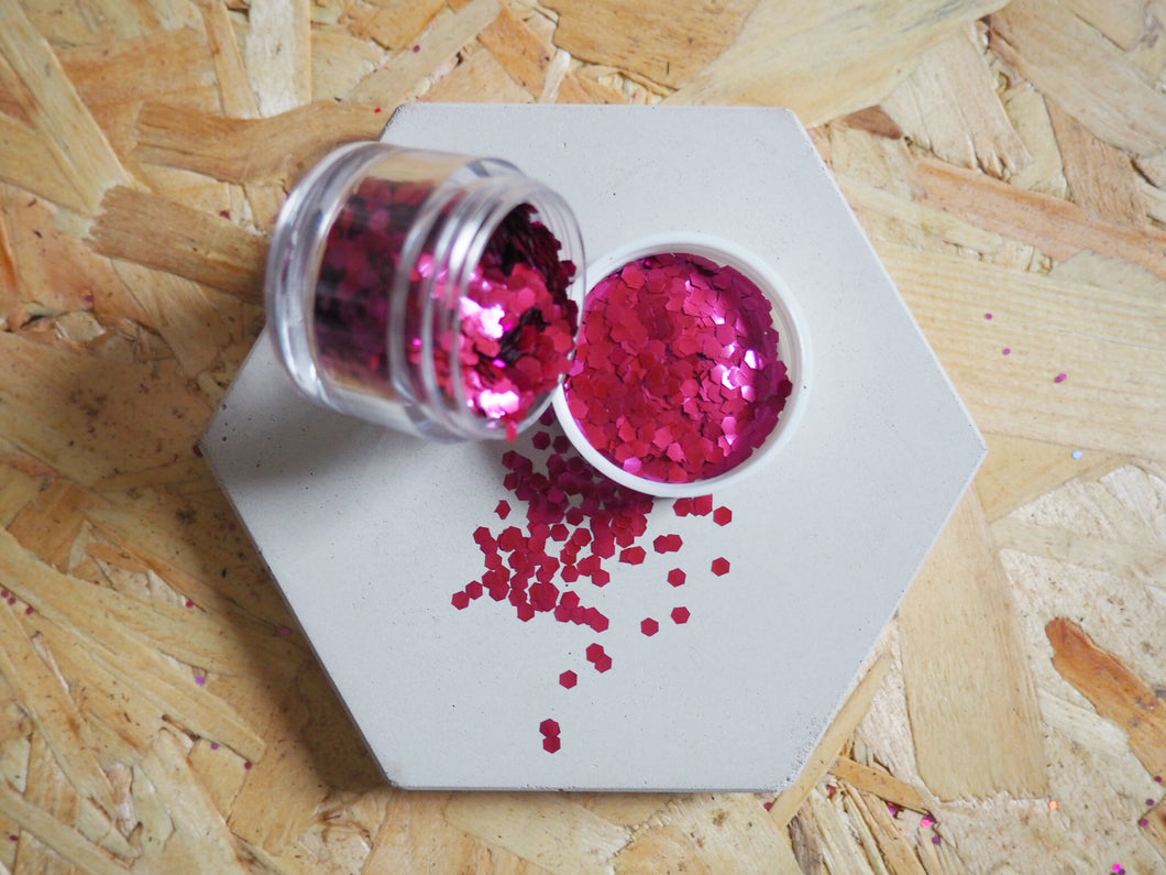 Biodegradable Chunky Cherry Cosmetic Face Glitter