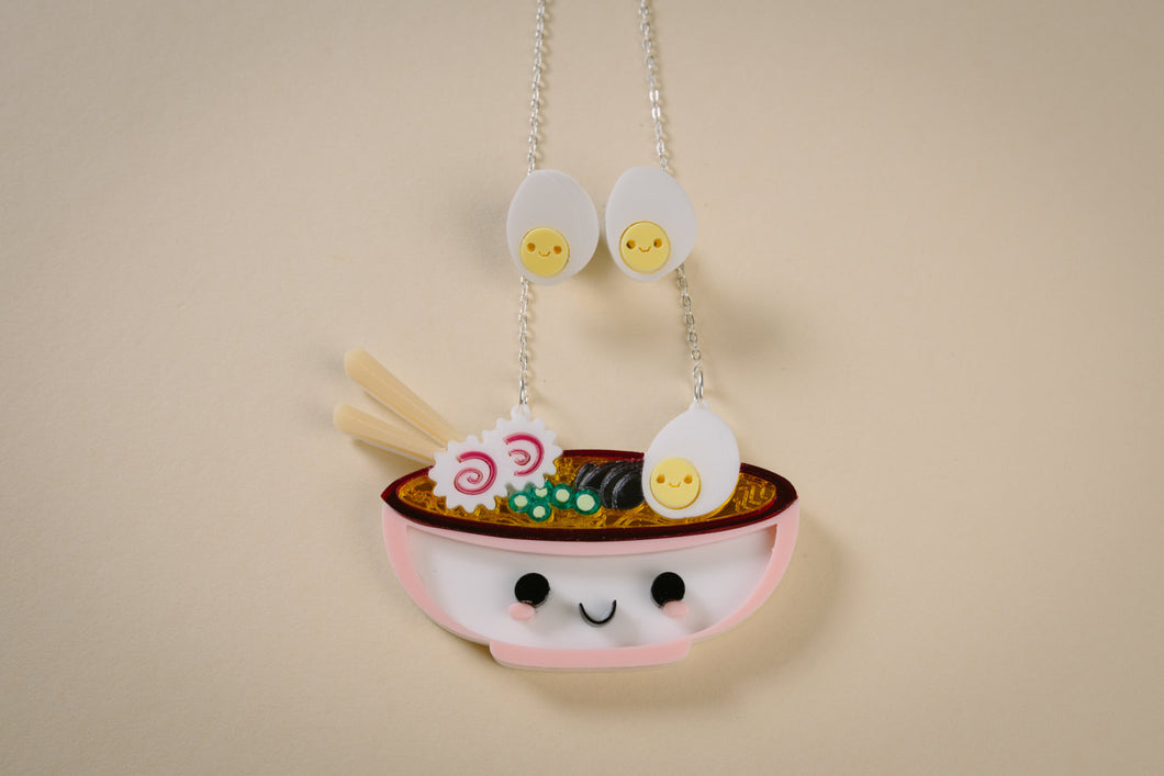Mr Ramen Necklace