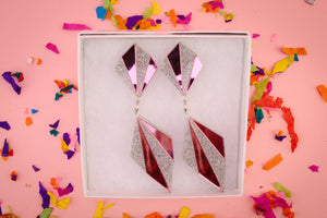 NicLove Art Deco earrings