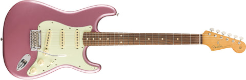 Fender Vintera 60s Stratocaster Modified Burgundy Mist Metallic