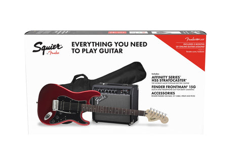 Fender AFFINITY SERIES™ STRATOCASTER® HSS PACK