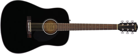 Fender CD-60S Dread, Black WN