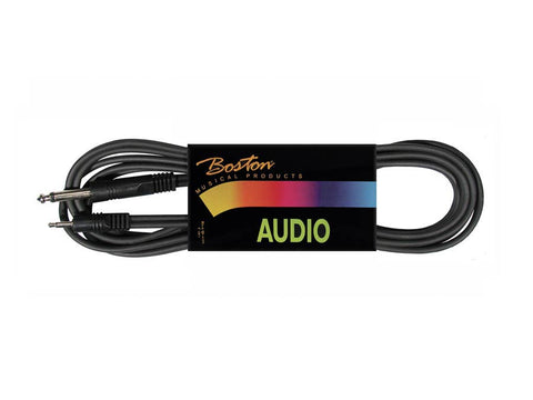 Boston Audio Cable, Black, Jack Mono - Mini-Jack Mono, 3.00 meter
