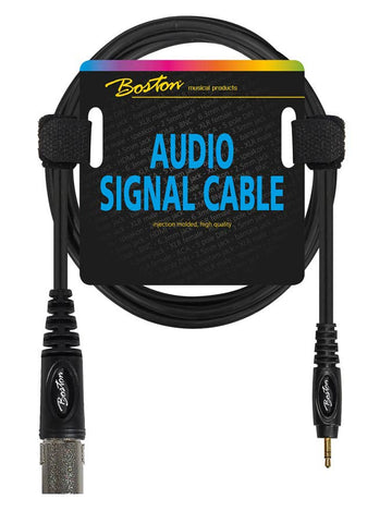 Boston Audio Signal Cable XLR to Male Jack 3.55m Stereo, 3 Meter