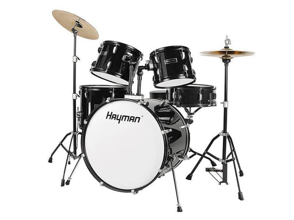 Hayman HM100 5 Piece Drum Kit - Black
