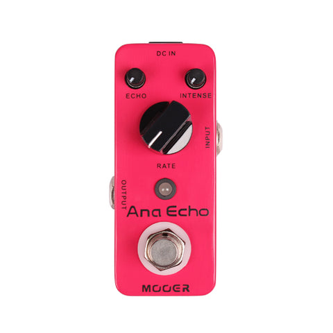 Mooer MAD1 ANA Echo Analogue Delay Pedal