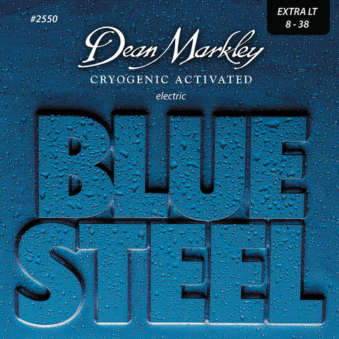 Dean Markley Blue Steel Electric Guitar Strings Set Extra Light 8-38
