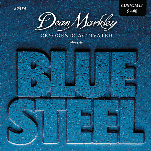 Dean Markley Blue Steel Electric Guitar Strings Custom Light 9-46