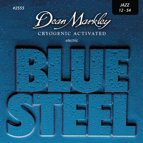 Dean Markley Blue Steel Electric Guitar Strings Jazz 12-54