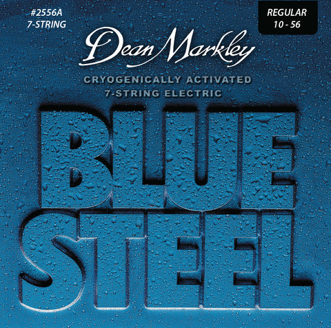Dean Markley Blue Steel Electric Guitar 7 String Set Regular 10-56