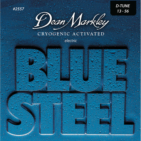 Dean Markley Blue Steel Electric Guitar Strings Drop Tune 13-56