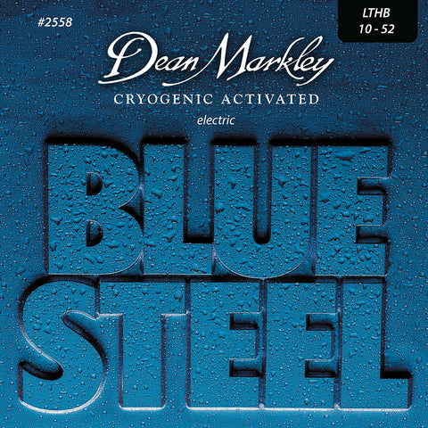 Dean Markley Blue Steel Electric Guitar Strings Light Top Heavy Bottom 10-52