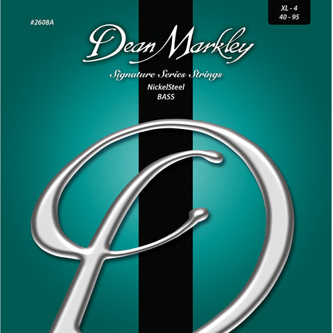 Dean Markley NickelSteel Signature Bass Strings Extra Light 4 String 40-95
