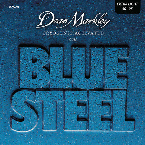 Dean Markley Blue Steel Bass Guitar Strings Extra Light 4 String 40-95