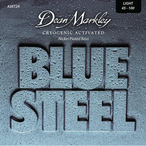 Dean Markley Blue Steel NPS Bass Guitar Strings Light 4 String 45-100