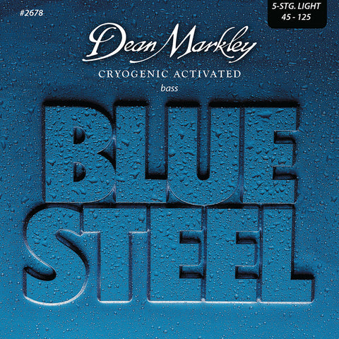 Dean Markley Blue Steel Bass Guitar Strings Light 5 String 45-125