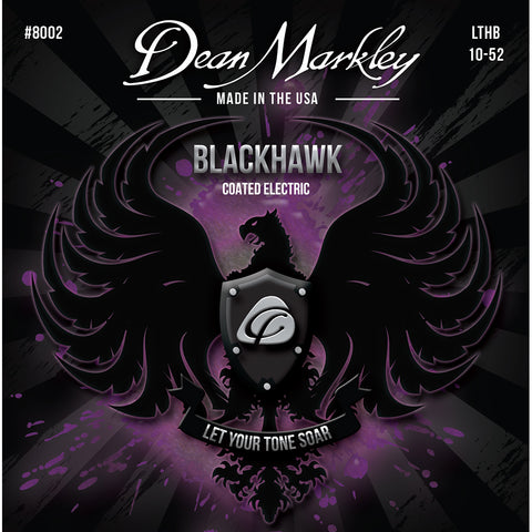 Dean Markley Blackhawk Coated Electric Strings Light Top Heavy Bottom 10-52