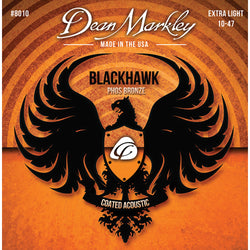 Dean Markley Blackhawk Coated Pure Bronze Extra Light 10-47
