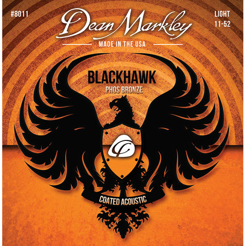 Dean Markley Blackhawk Coated Pure Bronze Light 11-52