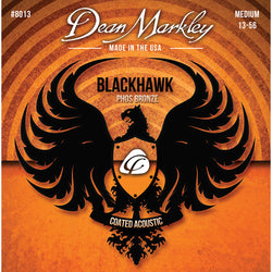 Dean Markley Blackhawk Coated Pure Bronze Medium 13-56