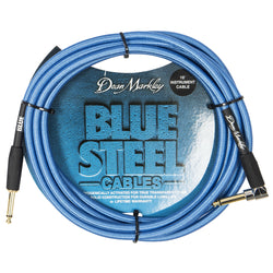 Dean Markley Blue Steel Instrument Cable ~ 10ft Right Angle