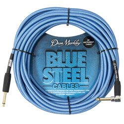 Dean Markley Blue Steel Instrument Cable ~ 20ft Right Angle