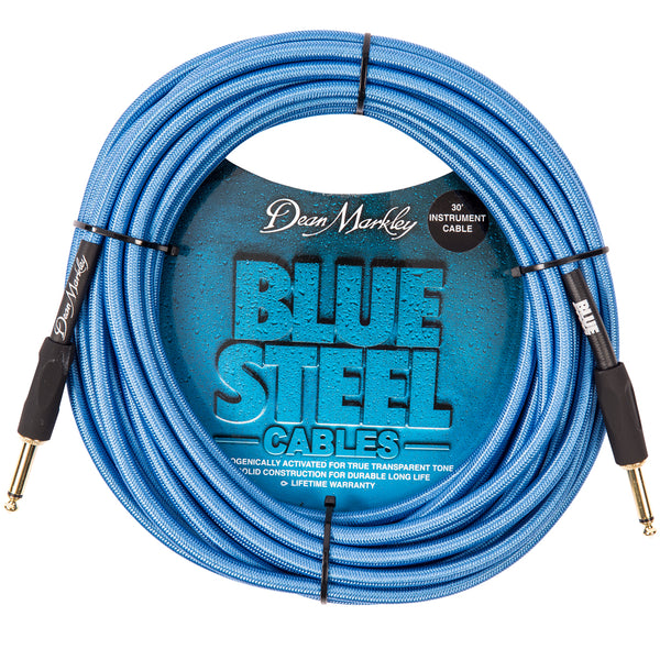 Dean Markley Blue Steel Instrument Cable ~ 30ft