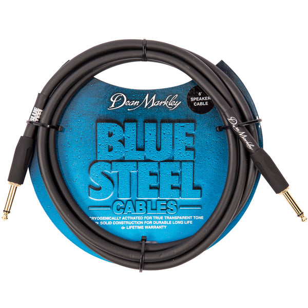 Dean Markley Blue Steel Speaker Cable ~ 6ft