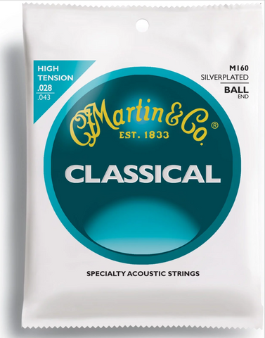 Martin M160 .028 Gauge Classical Guitar Strings
