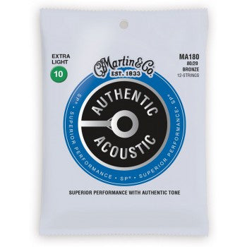 Martin MA170 .010 Gauge Acoustic Guitar Strings