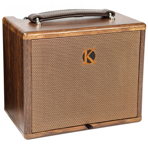 KINSMAN 25W ACOUSTIC AMPLIFIER WITH CHORUS - MAINS/BATTERY POWERED