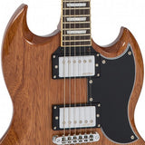 VINTAGE VS6 REISSUED ELECTRIC GUITAR ~ NATURAL MAHOGANY