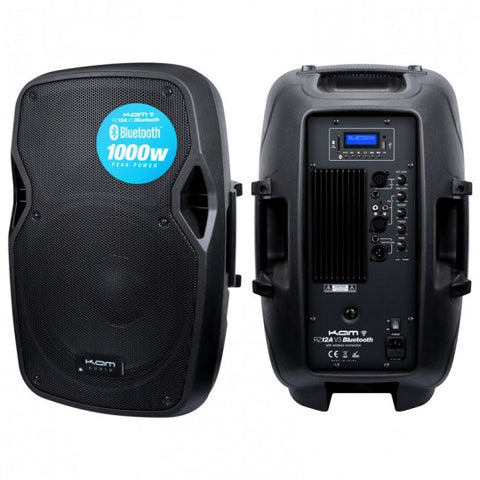 "KAM 12"" ACTIVE SPEAKER WITH BLUTOOTH - 250W"