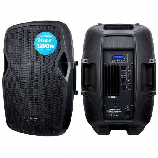 "KAM 15"" ACTIVE SPEAKER WITH BLUETOOTH ~ 300W"