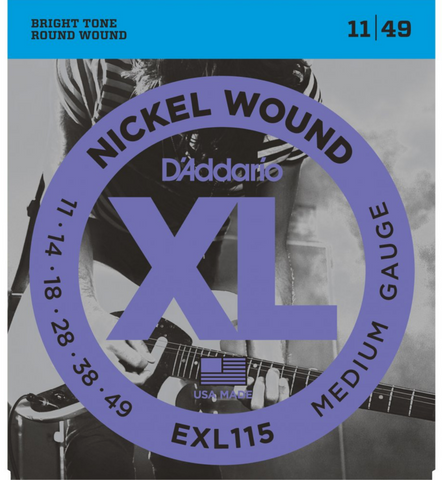 Daddario EXL115 . 011 Gauge Electric Guitar Strings