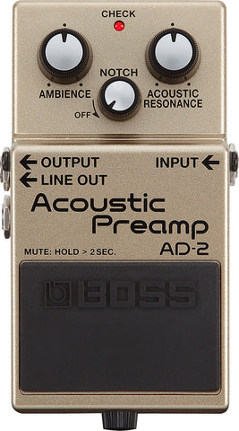 Boss AD-2 (Acoustic Preamp)