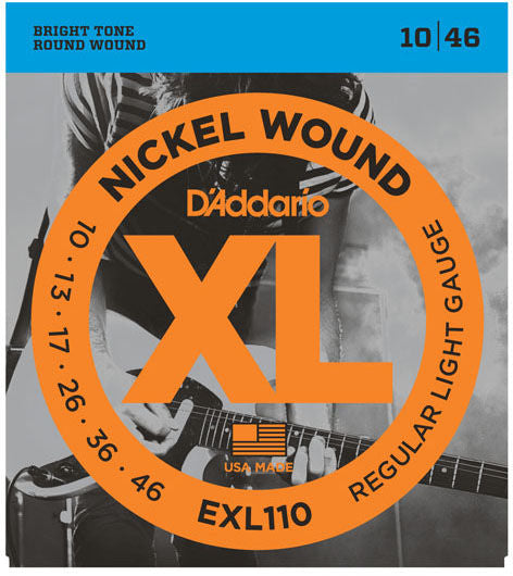 Daddario EXL110 .010 Gauge Electric Guitar Strings