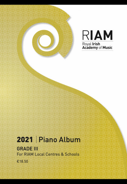 RIAM Piano Album 2021 Grade 3