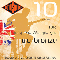 Rotosound TB10 .010 Gauge Acoustic Guitar Strings