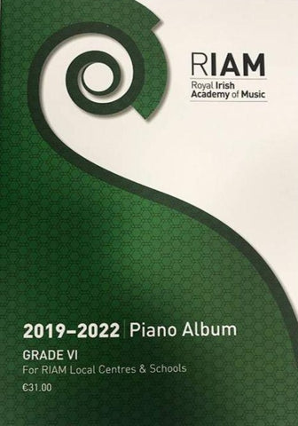 RIAM Piano Album 2019 - 2022 Grade 6