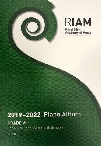 RIAM Piano Album 2019 - 2022 Grade 7