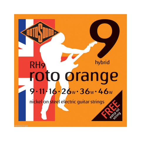 Rotosound RH9 .090 Gauge Electric Guitar Strings