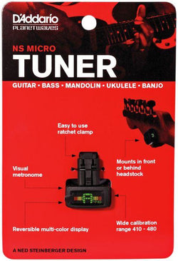 Daddario NS Micro Tuner PW-CT-12